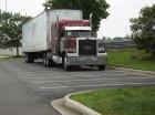 Red Peterbilt Truck
